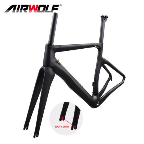 2020 Carbon Fiber Road Racing Bike Frame BSA 3K Bicycle Frameset//fork//seatpost