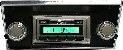 1968-1972 Ford F Series Truck AM FM Stereo Radio USA-230 200 watts Aux input _