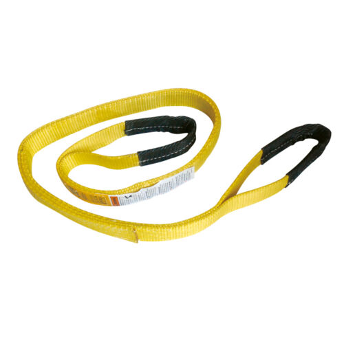 4 x 10' Polyester Lifting Sling Eye & Eye 2 Ply Tow Strap