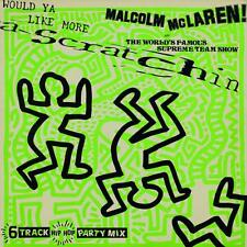 "KEITH HARING - LP ""MALCOM Mc LAREN"" design original de cover de Keith Haring-33T"