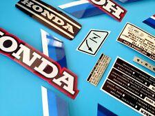 ATC 110 Honda Stickers Set Warning Advice Vintage Trike 1983 Sticker/Decals