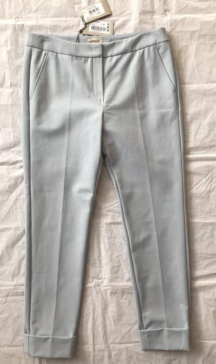 ARMANI COLLEZIONI Women's Casual Pant Trouser Sz US 8  NWT