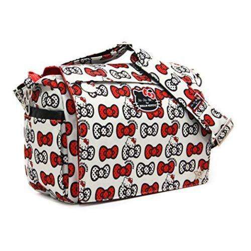 Ju-Ju-Be Hello Kitty Collection Better Be Messenger Diaper Bag Peek A Bow