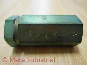 Kepner 460B-1 Brass Ball Check Valve