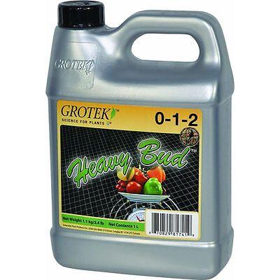 GroTek Heavy Bud 1L Blooming Supplement Stimulator - Flowering Stage Hydroponics
