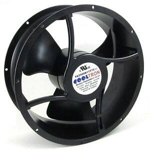 110V / 115V / 120 V AC Cooling Fan. Ø 254mm x 89mm (HS2589A)