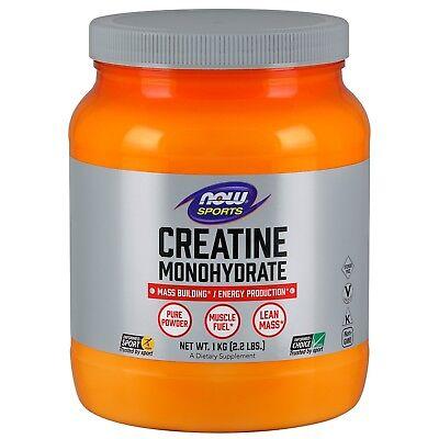 NOW Sports Creatine Monohydrate, 5g, 2.2 lbs Powder