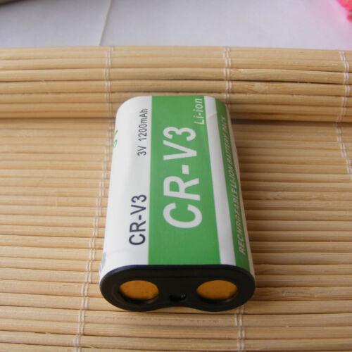 Li-Ion Batería//Cargador para Pentax CR-V3 K100D Digital SLR K110D Digital SLR