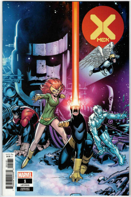 X-MEN #1 1:100 CHRIS BACHALO HIDDEN GEM VARIANT DX HICKMAN MARVEL COMICS 2019