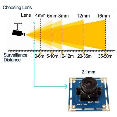 2MP OV2710 MJPEG 30/60/120fps High Speed USB Camera Module