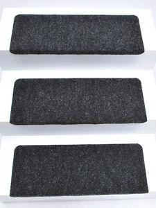 15er set stufenmatten treppenmatten andes anthrazit rechteckig ca 65x24x4 cm ebay. Black Bedroom Furniture Sets. Home Design Ideas