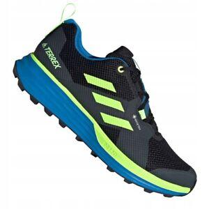 Chaussures Adidas Terrex Two Gtx M FV8102 le noir vert