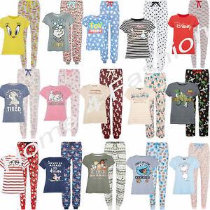 magasin en ligne vente professionnelle les clients d'abord Détails sur Disney femmes à manches courtes Pyjama Femme T-Shirt & Bas  Pyjama PRIMARK pyjama- afficher le titre d'origine