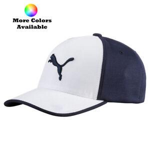 New-Puma-Golf-2017-Front-9-Flexfit-Cap-Hat-053186