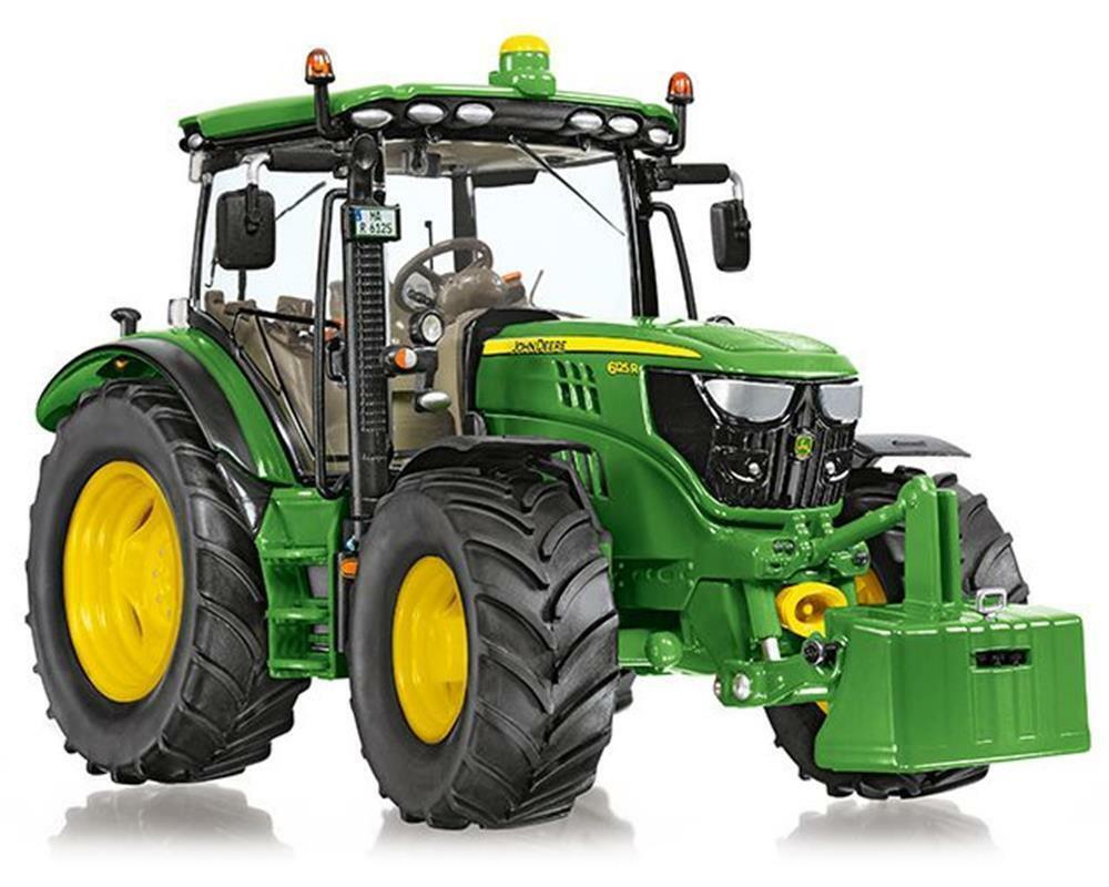7318 Wiking John Deere 6125R tractor model BOXED 1 32 NEW