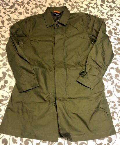 JACK SPADE NEW YORK Men's Coat Olive Green Trench