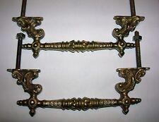 anciennes poignées bronze meuble commode tiroirs