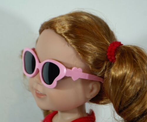 SUNGLASSES PINK FOR 14 IN WELLIE WISHERS AMERICAN GIRL DOLLS