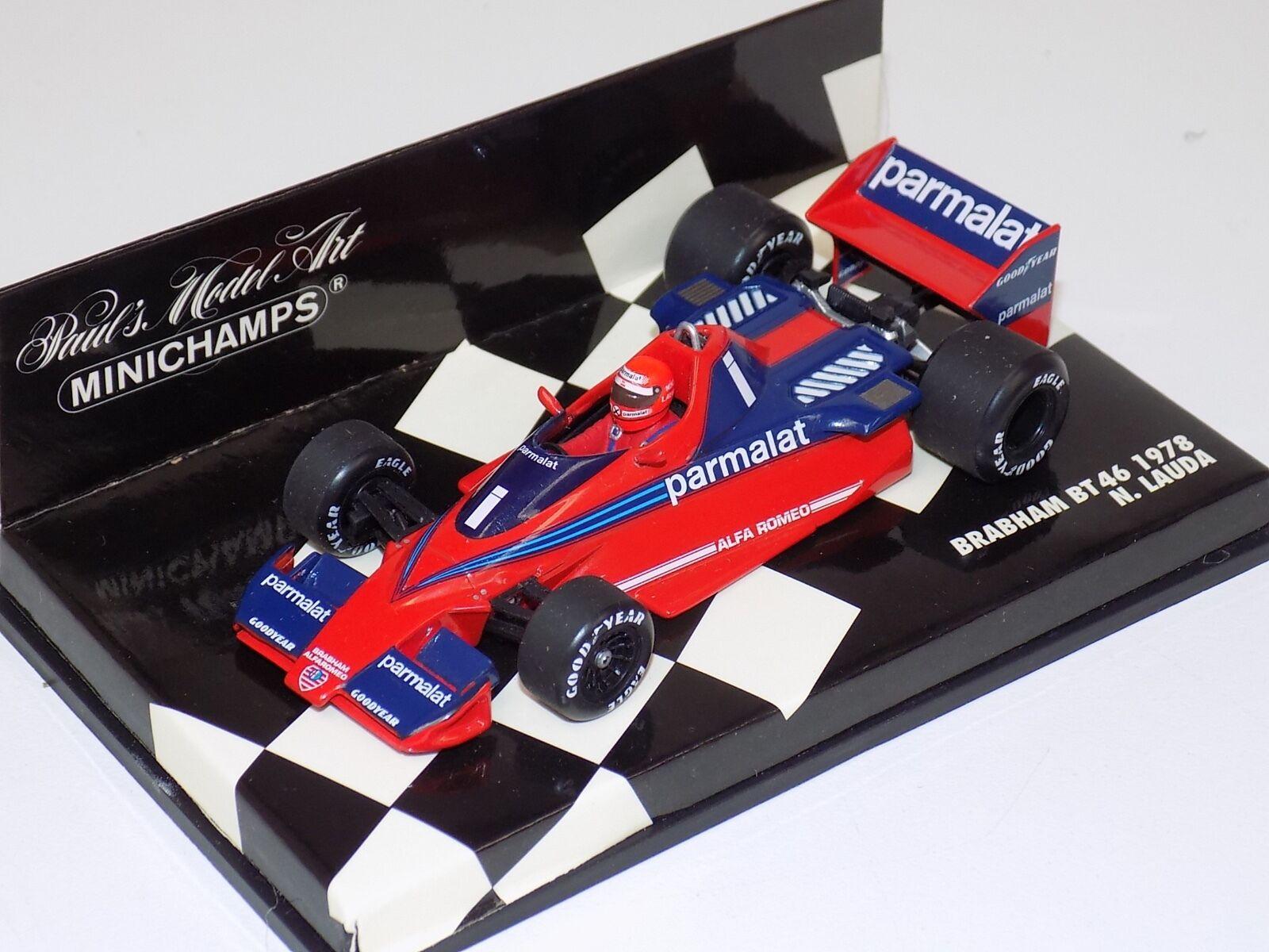 1 43 Minichamps F1 Formel 1 Brabham BT46 1978 Parmalat N.Lauda