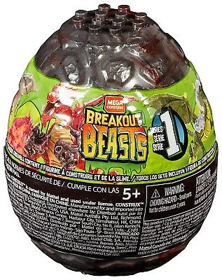 Breakout Beasts Series 5 Slime Egg Mystery Pack New//Sealed Free Shipping