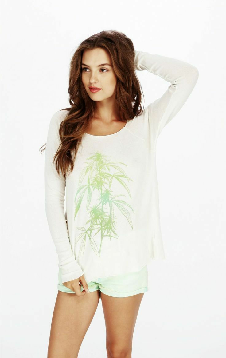 Wildfox Wildfox Wildfox Couture  Herbal Remedies  Raglan in Vintage Lace color, Size S 09cd01