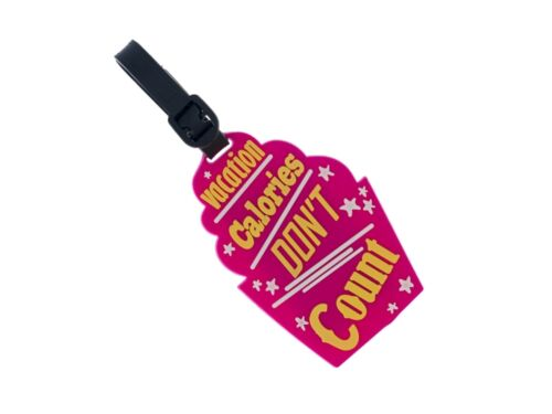 Colorful /& Fun Travel Suitcase ID Luggage Tag and Suitcase Label