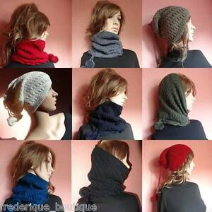 BONNET-Snood-Col-Transformable-3-en-1-Tour-de-Cou-Cagoule-ORIGINALE-scarf-snood