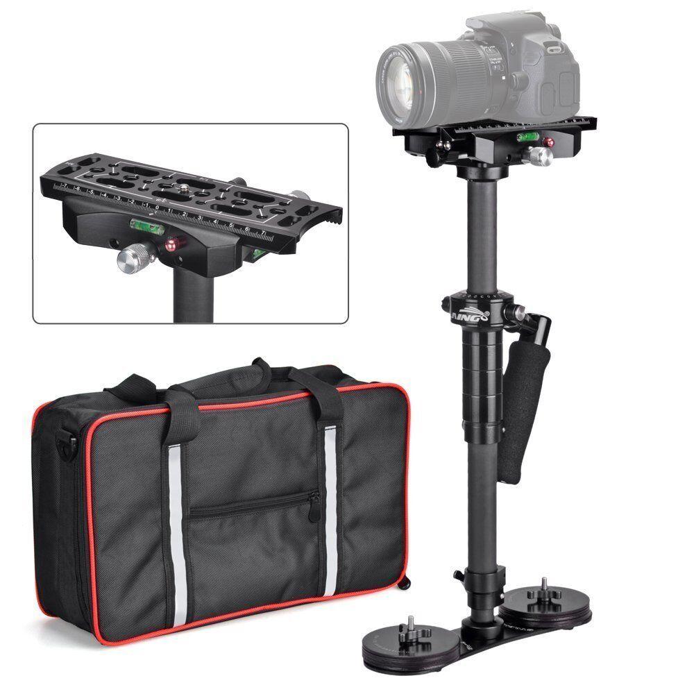 Laing Handheld Stabilizer P-4S 0-15kg Steadycam Carbon Fiber for Dslr Camera