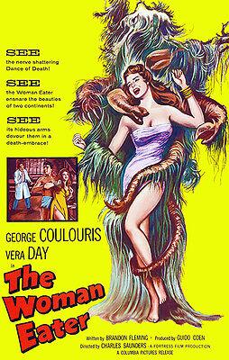 Cult Horror movie poster print She Demons 1958