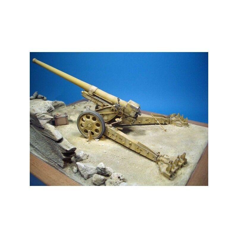 Ansaldo 149 40 Cannone 1 35 resina Wehrmacht 15 cm K 408(i) Kanone Gun resin kit