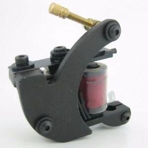 Pro-Cast-Iron-Crescent-Coil-Tattoo-Machine-Gun-10-Wrap-Coils-For-Liner-Shader
