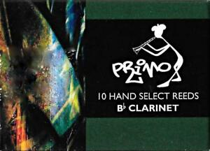 Primo-3-5-Bb-Clarinet-Reeds-Box-of-10-BRAND-NEW
