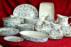 Image is loading BHS-TEA-SET-AND-TABLEWARE-039-BRISTOL-BLUE- & BHS - TEA SET AND TABLEWARE - \u0027 BRISTOL BLUE \u0027 - ENGLISH BONE CHINA ...