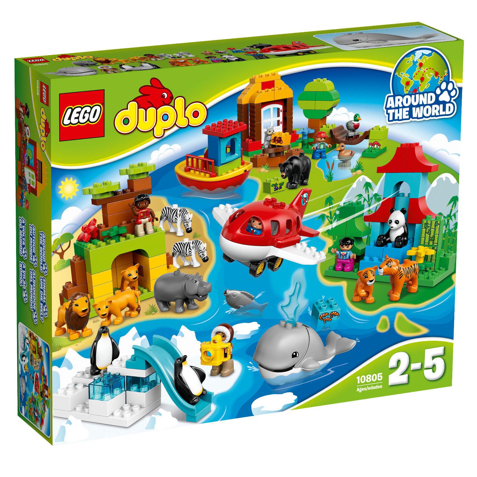 LEGO® Duplo® (10805) Einmal um die Welt inkl Versand NEU&OVP Tiere Flugzeug