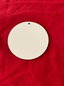 Tag Shape Ornament Sublimation Blank Hardboard Unisub