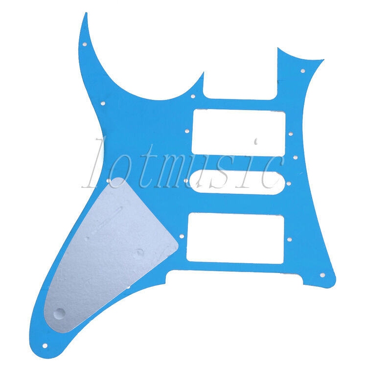 Mirror guitar pickguard scratch plate for ibanez rg