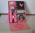Handmade Pop Up Greeting Card Made with Stampin Up Stamp Punch & More U CHOOSE 1