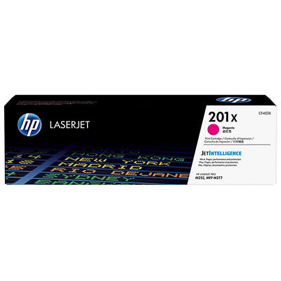 1x ORIGINAL HP TONER 201X CF403X Color LaserJet Enterprise m553dn m552dn