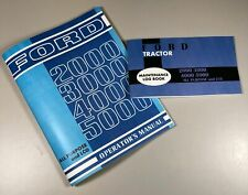 Ford 2000 3000 4000 5000 Tractor Operators Owners Manual All Purpose Lcg With Log