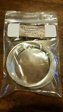 20awg silver plated 99.9999 % pure OCC solid core copper wire 24ft.Bid!