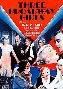 THREE-BROADWAY-GIRLS-THREE-BROADWAY-GIRLS-DVD-NEW