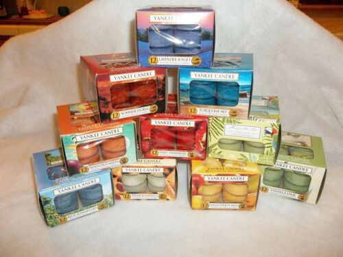 You Pick NIB Assorted Yankee Candle One Dozen Tealight Candles