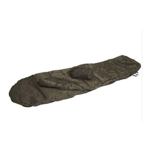 Mil-tec commando une saison 1 léger été militaire sac de couchage vert nouveau