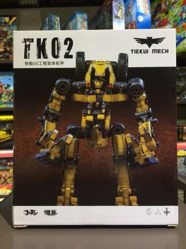 TIEKUI MECH TK02 1//25 MISB JT0043 NEW IN STOCK JOYTOY Dark Source Yellow
