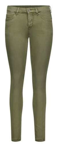 MAC DREAM SKINNY military green Damen Stretch Jeans 5402-00-0355L-348W