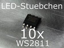 10x WS2811 LED-Treiber IC (Pixel, Stripes, KSQ)