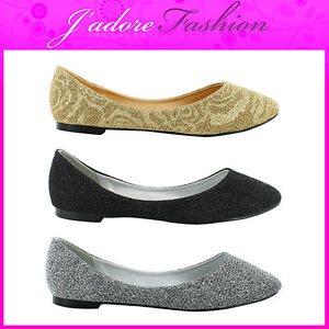 NEW-LADIES-FLAT-FASHION-PUMPS-BALLET-DOLLY-SLIP-ON-BALLERINA-SHOES-SIZES-UK-3-8