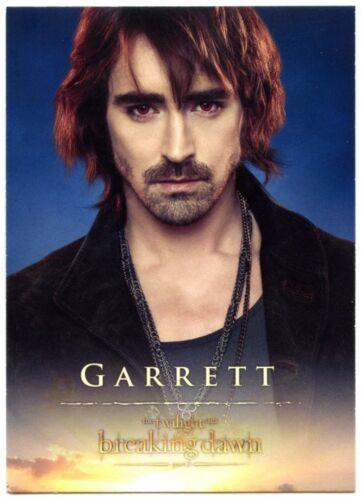 Lee Pace C1650 #17 Twilight Breaking Dawn Part 2 2012 Trade Card Garrett
