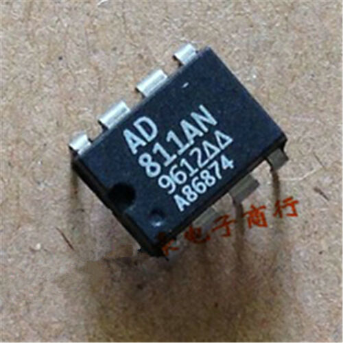 5PCS  NEW AD811AN AD 0712 DIP-8