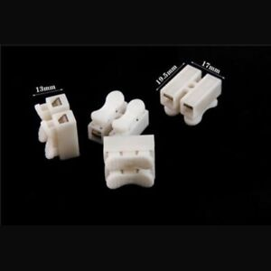 10pcs-2p-CH2-Connecteur-Rapide-Serre-cable-terminal-block-Spring-Connector-Wire